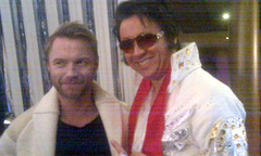 A reluctant Ronan is snapped on set with ChineseElvis by Keith Lemon