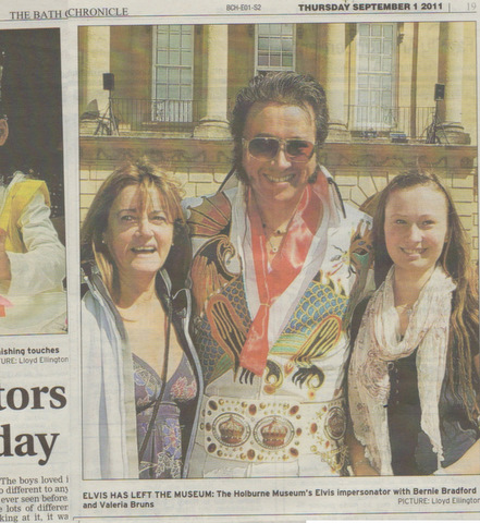 Bath Chronicle article