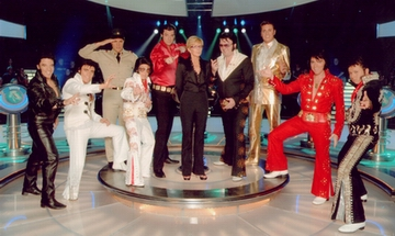 The cleverest Elvises on TV!