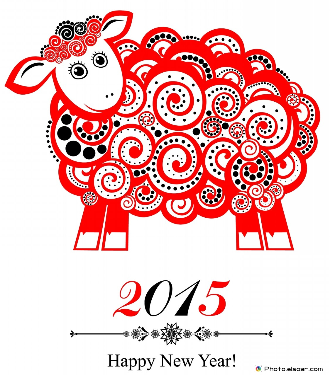 Happy New Year of the Sheep (goat!)