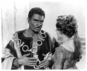 Laurence Olivier And Maggie Smith In 'Othello'